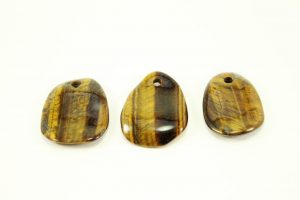 Tiger Eye Crystal Necklace - Pendant - Dog Tag - Jewelry 4