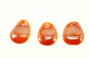 Carnelian Crystal Necklace - Pendant - Dog Tag - Jewelry