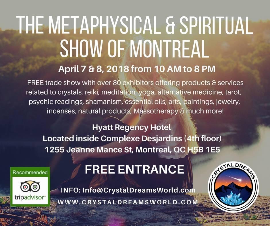 The Metaphysical & Spiritual Show of Montreal