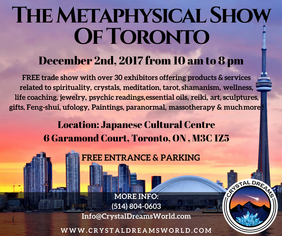 The Metaphysical & Spiritual Show Of Toronto