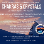 FREE Crystals & Chakras Workshop In Montreal