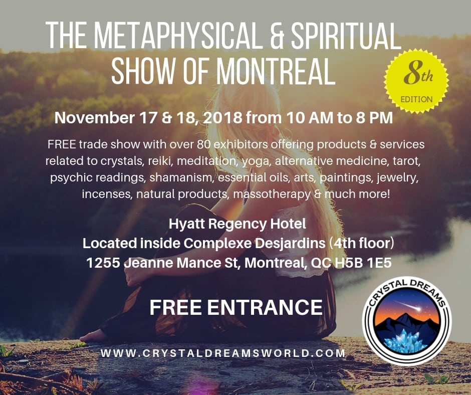 The Metaphysical & Spiritual Show of Montreal