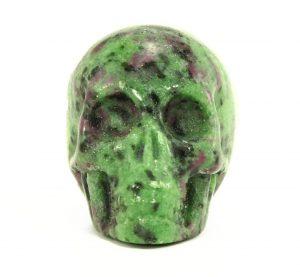 Crystal Dreams 100% Natural High Quality Rubis Fushite Skull