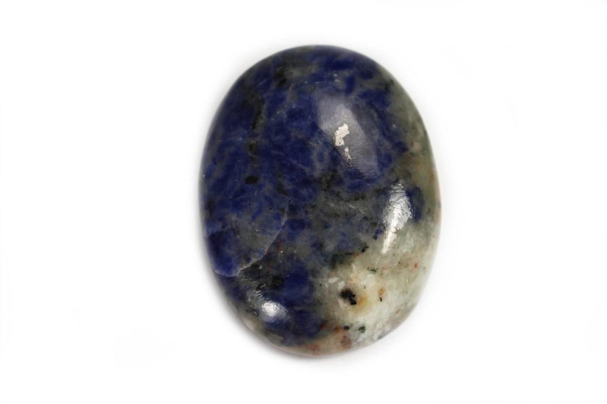 Crystal Dreams Sodalite Palm Stone