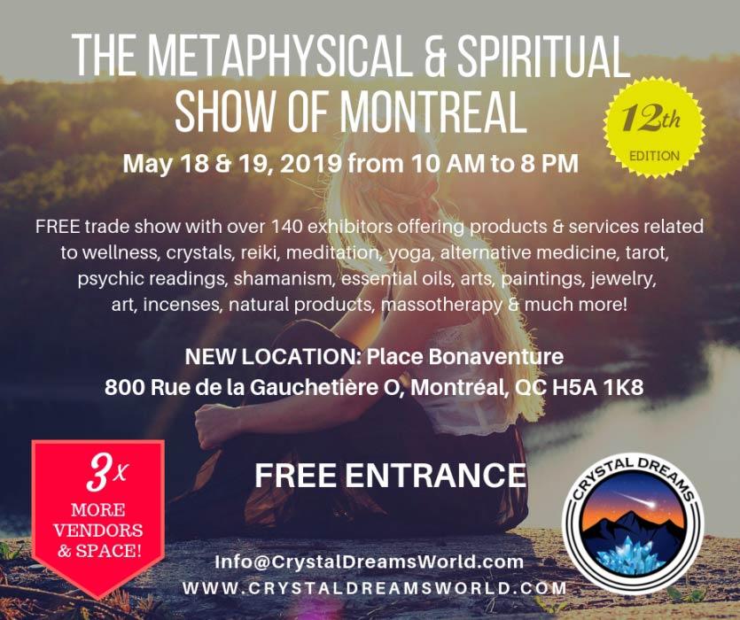 The Metaphysical & Spiritual Show of Montreal 2